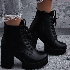 Women's Shoes, High Shoes, Black High Heels, High Heels Stilettos, Cute Shoes, Black Boots, Platform Stilettos, Prom Heels, Stiletto Heels