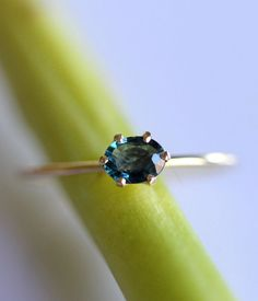 Charming, exquisite and refined…words to describe a princess, or this elegant sapphire ring. With shimmering sparkles and a lustrous royal blue…the stone rests serenely in its six-pronged throne. For the little bit of princess deep down inside. Color range shown on the last photo, I