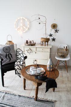 Weihnachts-deko-ideen Für Küche Und Wohnzimmer Scandi-bohostyle ... Deko Furs Wohnzimmer Selber Basteln