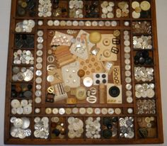 ButtonArtMuseum.com - My Crazy Quilt Life - button collection