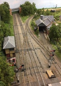 Encombe Station approach trackwork
