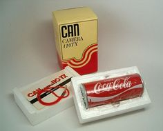 Coca Cola Can Shaped Novelty Camera 110 New in by highplacesphotos