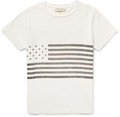 Remi Relief Flag-Print Cotton-Jersey T-Shirt