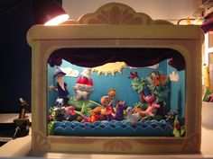 Felted Theater Box with Puppets $999.00