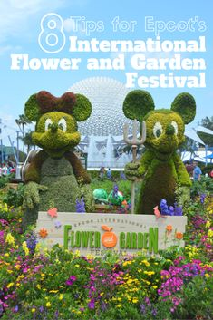 8 Tips for Epcot's International Flower and Garden Festival 2016; Disney World - My Big Fat Happy Life