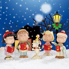 PEANUTS™ Christmas Caroling Figurine by Lenox