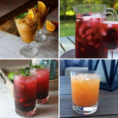 Four Great Summer Cocktails