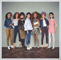 Mis MTM Barbie hybrids