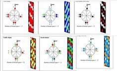 8 cord beaded kumihimo patterns - - Yahoo Image Search Results