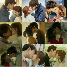 The cute kisses from strong woman do bong soon! This couple needs to be real💜 Park Bo Young, Park Hyung Sik, Kdrama, Korean Drama Movies, Korean Actors, Korean Dramas, Strong Girls, Strong Women, Ahn Min Hyuk