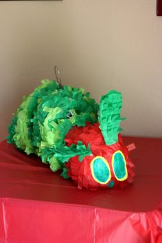 Very Hungry Caterpillar piñata