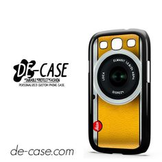 Silver Yelow Leica Camera DEAL-9597 Samsung Phonecase Cover For Samsung Galaxy S3 / S3 Mini