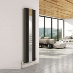 Mirrored Radiators - feel the warmth & reflection...