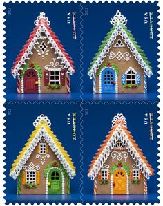 Christmas: Gingerbread Houses