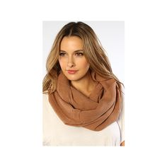 *Accessories Boutique The Soft & Solid Scarf in Camel ($20) ❤ liked on Polyvore