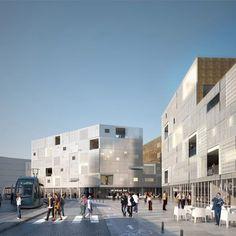 72 Collective Housing Units by LAN Architecture - Dezeen