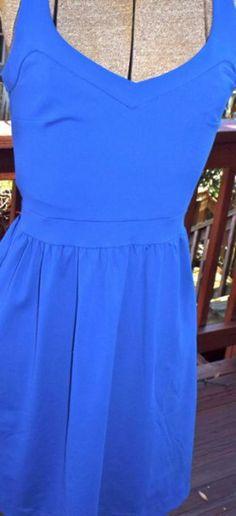Cynthia Rowley Royal Blue Baby Doll Dress , Cynthia Rowley,  Blue Dress,  Royal Blue Dress,  Cynthia Rowley Dress http://ragsexchange.com/products/cynthia-rowley-royal-blue-baby-doll-dress/109