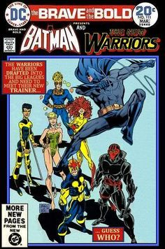 Super-Team Family: The Lost Issues!: Batman and The New Warriors