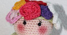 Patroon Deksels Bloemenmeisje Wat heb je nodig ·  Garen in de kleuren die jij leuk vindt ·  Potje (groentepotje... Free Pattern, Sewing Patterns Free