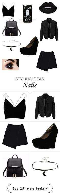 """""""Untitled #72"""" by leliamcgregor on Polyvore featuring River Island, MARC CAIN, ASOS, LE3NO and Delicious"""