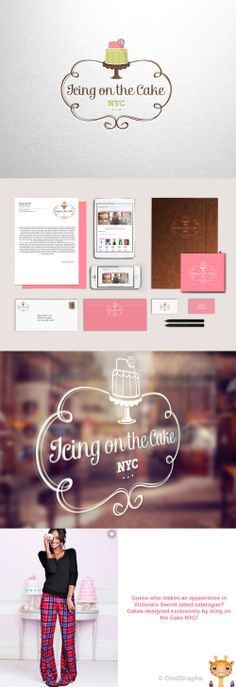 This is awsome! #logo #portfolio #design #graphic #graphicdesign #designer #cute #cake #stand #cupcake #pink #behance #logopond #brandstack #bestdesigner
