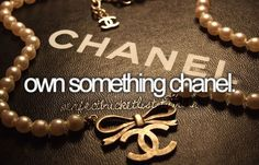 Because every girl should be able to feel like Coco Chanel every now and then