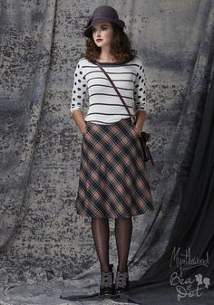 Following Dreams Sweater   Mod Retro Vintage Sweaters   ModCloth.com