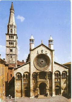 My UNESCO World Heritage Postcards: Italy - Cathedral, Torre Civica and Piazza Grande, Modena