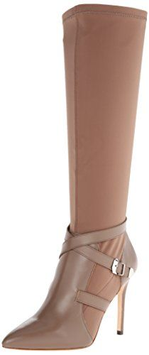 Charles David Women's Pennie Slouch Boot, Taupe, 7 M US Charles David