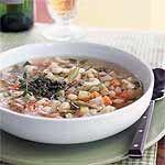 Vegetable Soup with Pistou Recipe   MyRecipes.com