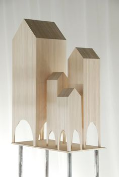 © jun igarashi - signal barn little houses Arch Model, Famous Architects, Built Environment, Miniature Houses, Little Houses, Mini Houses, Art Plastique, Scale Models, Home Art