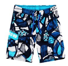 QualityUC Mens Boys Clothes Fashion Elastic Sports Shorts