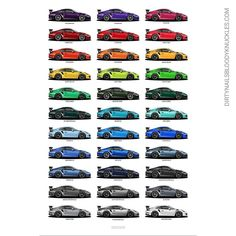 Taste the rainbow. Dirtynailsbloodyknuckles.com Link in profile #porsche #911 #porsche911 #porscheart #991 #gt3 #911gt3 #gt3rs #991gt3 #911gt3rs #rs #gt3 #porschegt3 #991911 #automotiveart #illustration #carart #automotiveillustration #rivierablue #mexicoblue #pts #voodooblue #voodooblau #pts #painttosample #pts911 #ptsrs #918