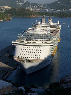 Oasis of the Seas in Charlotte Amalie Harbor, St. Thomas