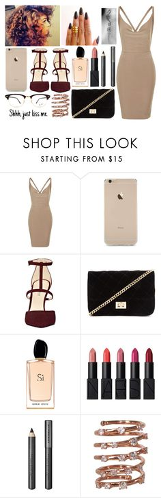 """""""•chivalry isn't dead•"""" by santania-12 ❤ liked on Polyvore featuring Rare London, Nine West, Forever 21, Giorgio Armani, NARS Cosmetics, Burberry, Plukka and Ray-Ban"""