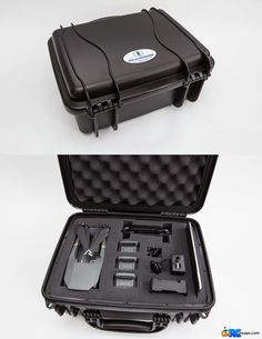 A Seahorse SE520 case with pluck foam. Makes a great case for the DJI Mavic Pro and fits all the Fly More items.  www.gunnphotoservices.com
