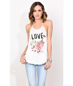 THE LOVE NO 1 Knit Tank