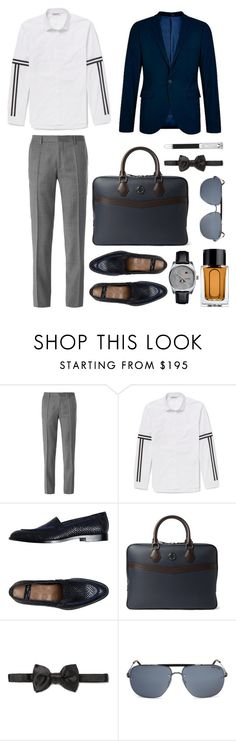 """""""Menswear"""" by thestyleartisan ❤ liked on Polyvore featuring HUGO, Neil Barrett, Topman, Paul Smith, Dunhill, Tom Ford and Alfred Dunhill"""