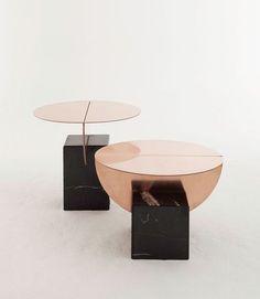 Vierkant en rond vorm  Vintage modern feel