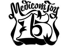 House Industries Medicom Toy Lettering