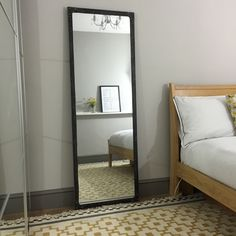 New Tall Mirror   Pewter   Steel Magnolias Furniture LTD. Vertical Wall  Hung Or Floor