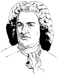 find this pin and more on bach for kids biography free sheet music worksheets learn to draw johann sebastian