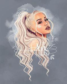 I love Ariana Grande Ariana Grande Anime, Ariana Grande Drawings, Ariana Grande Fotos, Ariana Grande Pictures, Ariana Grande Tumblr, Ariana Grande Background, Ariana Grande Wallpaper, Cartoon Kunst, Cartoon Art