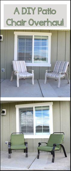 Diy Patio Furniture Repair Replacement Slings Outdoor