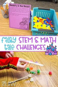 Highly engaging STEM challenges and math activities! Students complete the challenges to rescue Cinderella from a spell! So much fun for your primary students.