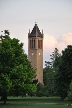 The Campanille Building on the Iowa State University Campus
