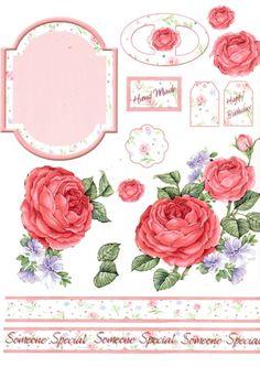 Rose elements sheet