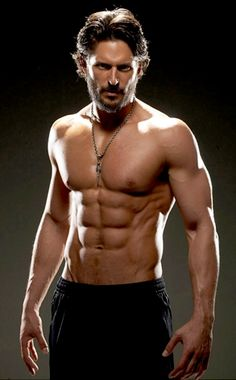 Joe Manganiello. I haven't even seen his season(s) of True Blood yet, but I'm drooling.