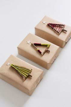 Christmas Tree Gift Toppers - WomansDay.com