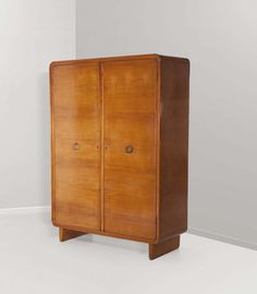 Gio Ponti; Maple Wardrobe, 1936.